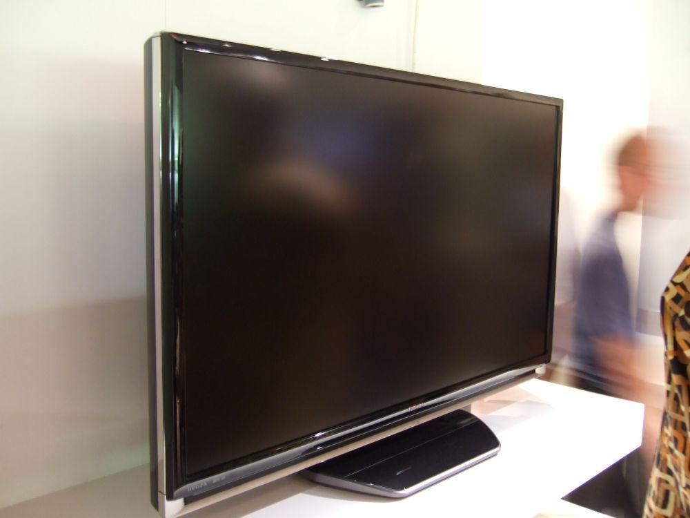 ... eine neue Technologie macht bei Toshiba solch dünne Rahmen möglich