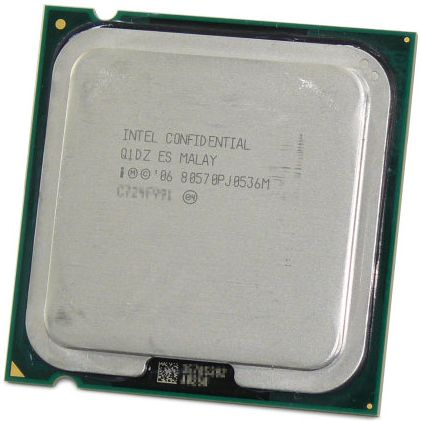 Intel Wolfdale Engineering Sample
