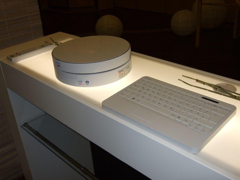 ...auf der IFA im Sony Showroom