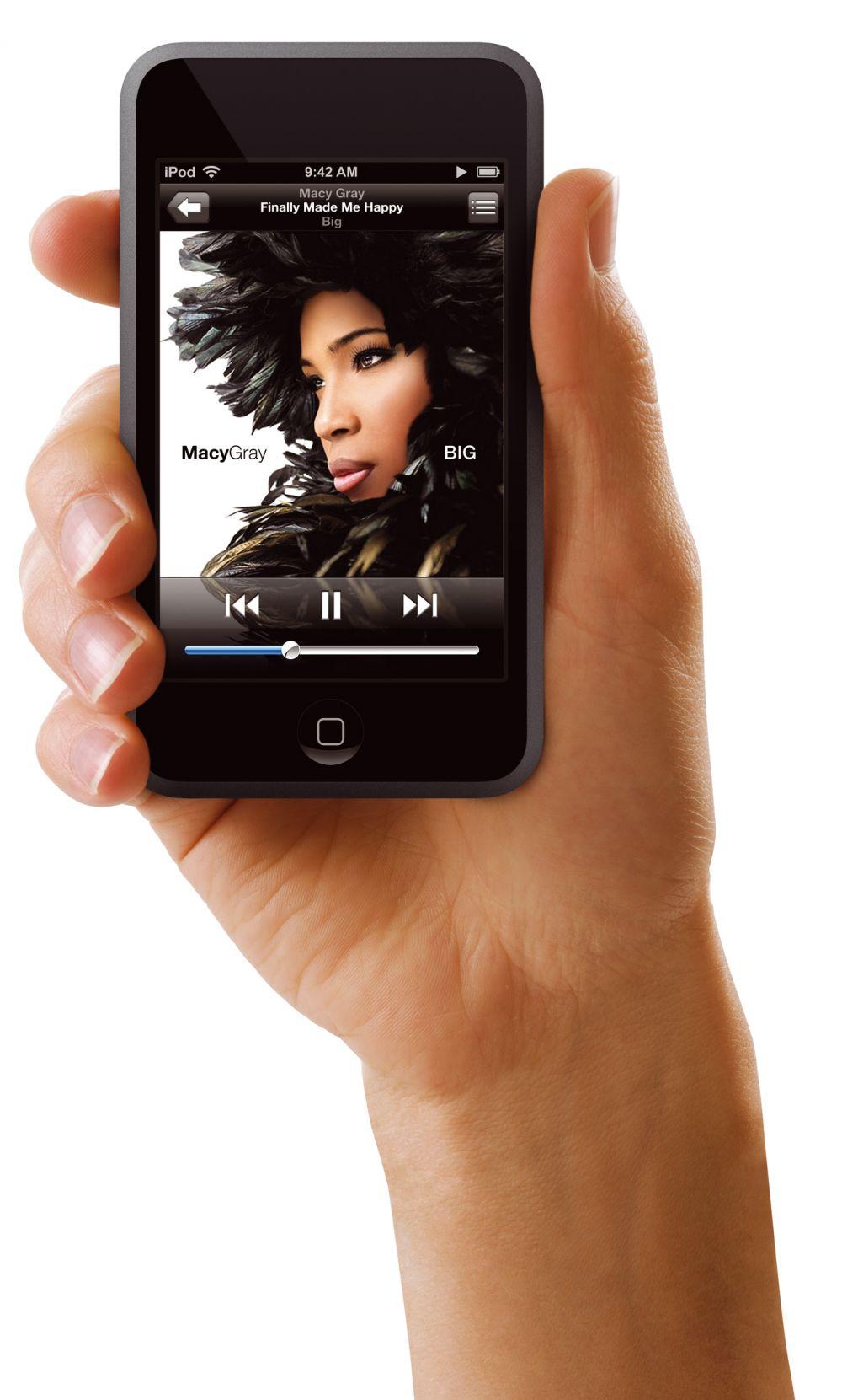 Der iPod touch...