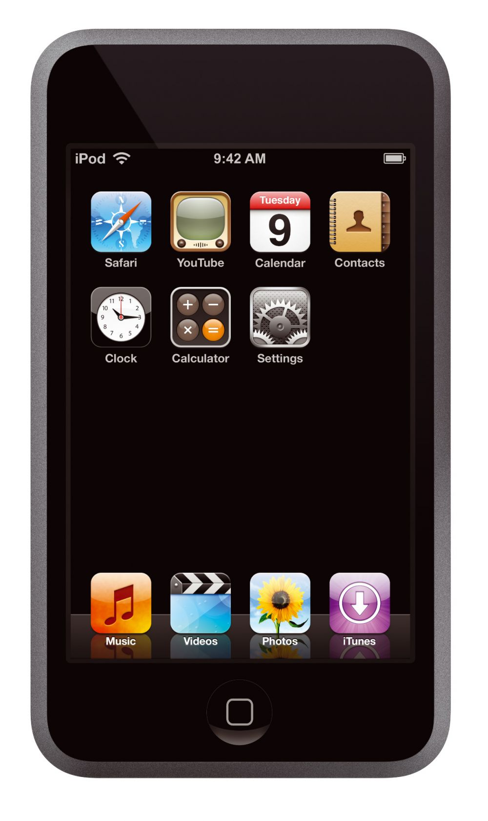...ähnelt stark dem iPhone