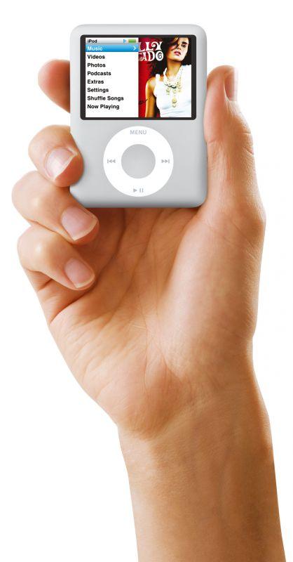 Der iPod nano wird kleiner und breiter...