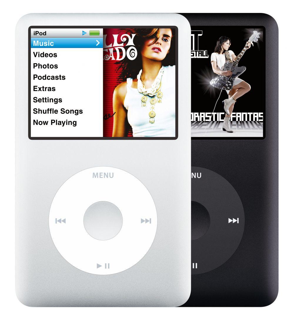 Der iPod wird zum iPod classic und ist ab sofort mit 80 und 160 GByte Speicher zu haben