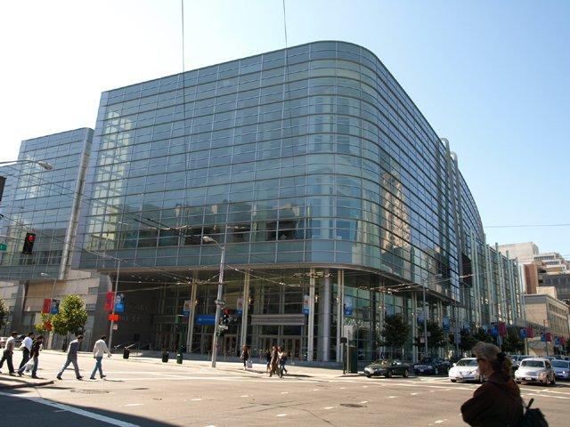 Moscone Center in San Francisco, Veranstaltungsort des IDF