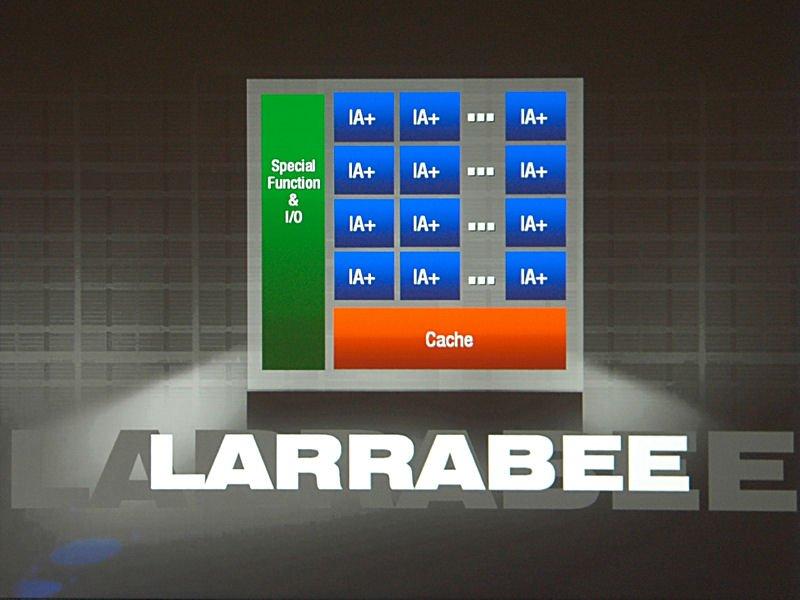 Intel Larrabee Bestätigung auf dem IDF