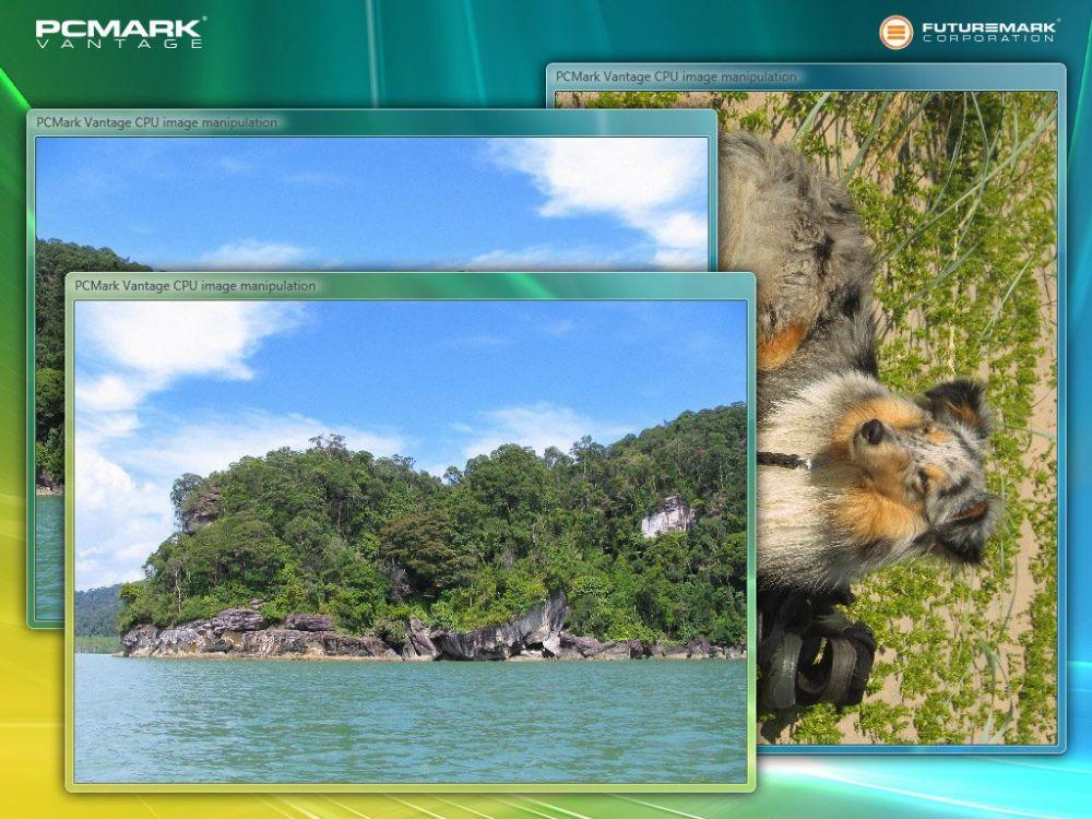 PCMark Vantage Screenshot