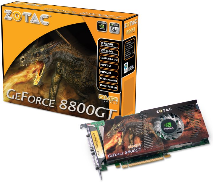 Zotac GeForce 8800GT AMP! Edition