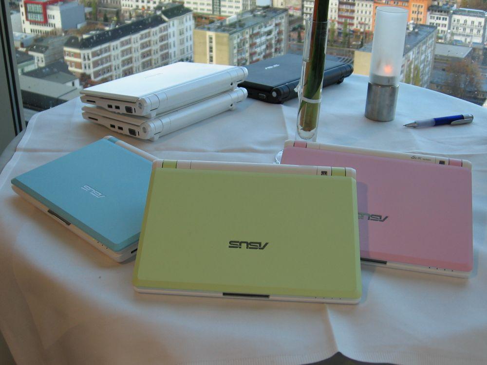EeePC in den Farben von 2008