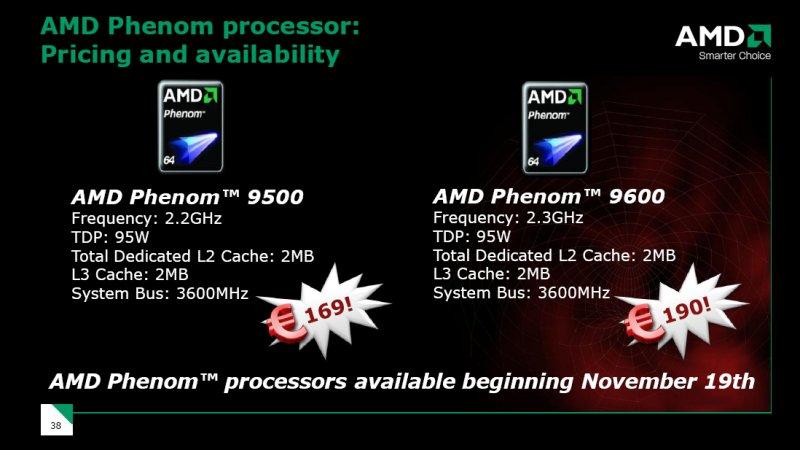 Zwei neue Phenom Prozessoren