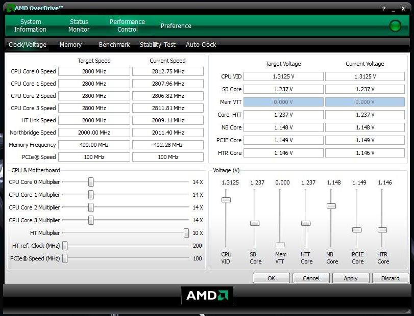 OverDrive: Übertaktet auf 2,8 GHz