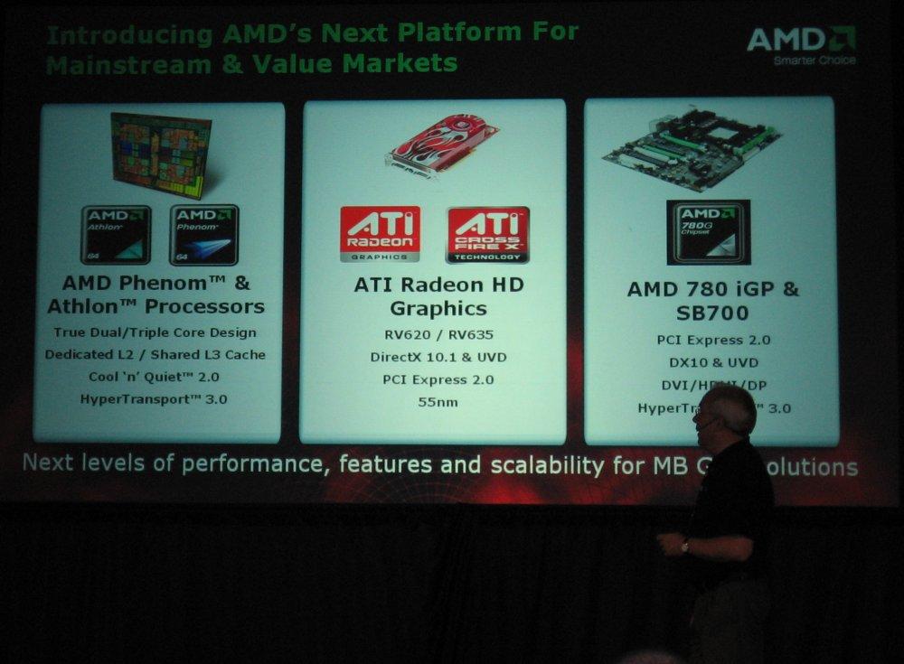 AMD zeigt kommende Mainstream- und Value-Plattform