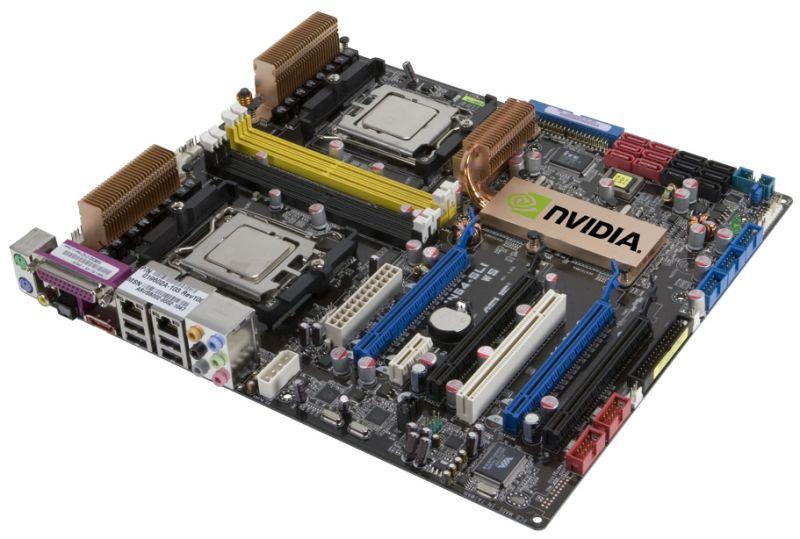 nVidia nForce 680a SLI Mainboard
