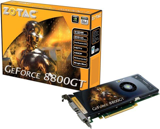 GeForce 8800 GT 512MB von Zotac