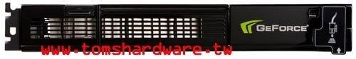 GeForce 9800 GX2 von oben (Bild von Tomshardware.tw)