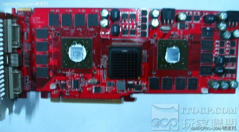 ATI Radeon HD 3870 X2 ohne Kühler