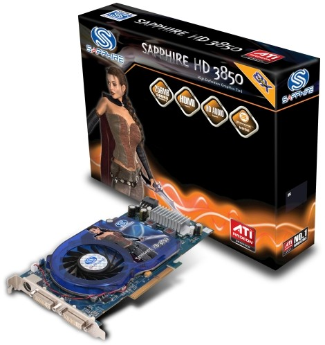 Sapphire HD 3850 AGP