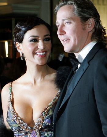 Maxfield-Chef Franjo Pooth mit Ehefrau