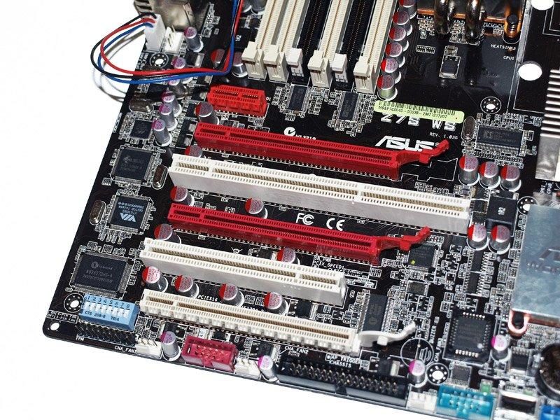 ASUS Z7S WS PCI Express Steckplätze