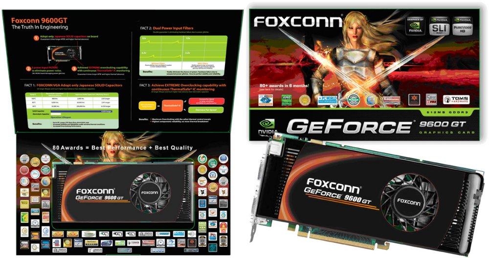 Foxconn GeForce 9600GT-512