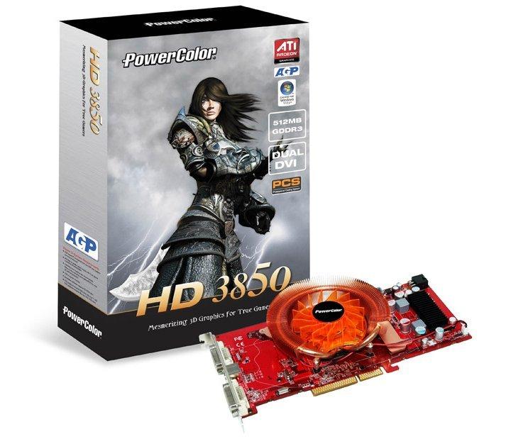 PowerColor HD 3850 AGP