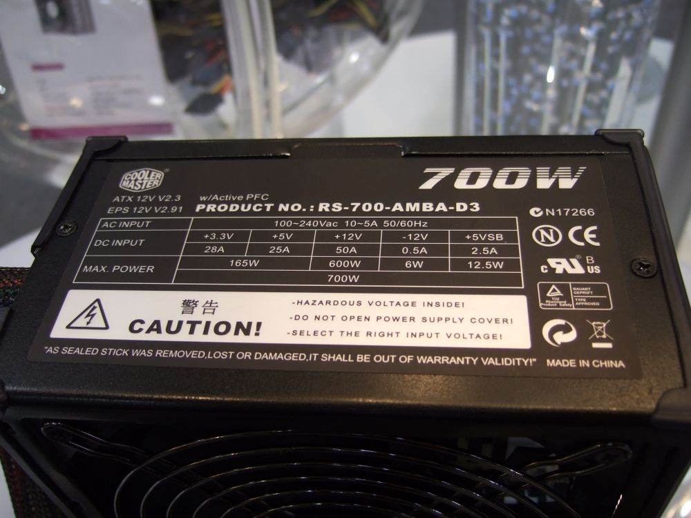 Cooler Master Silent Pro series 700W