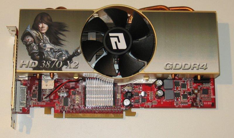 PowerColor HD 3870 X2 GDDR4