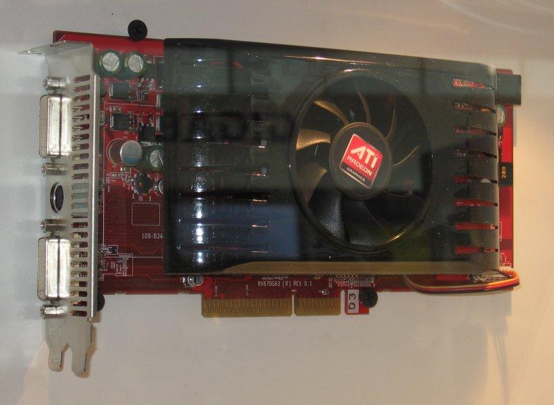 GeCube Radeon HD 3850 AGP