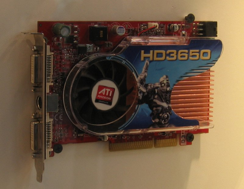 GeCube Radeon HD 3650 AGP