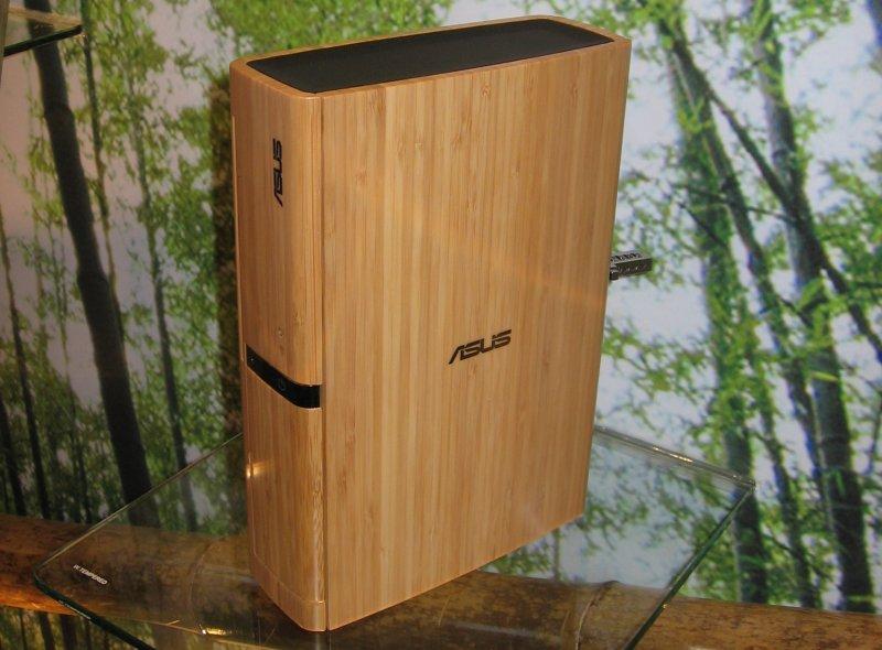 Mini-PC mit Bambus