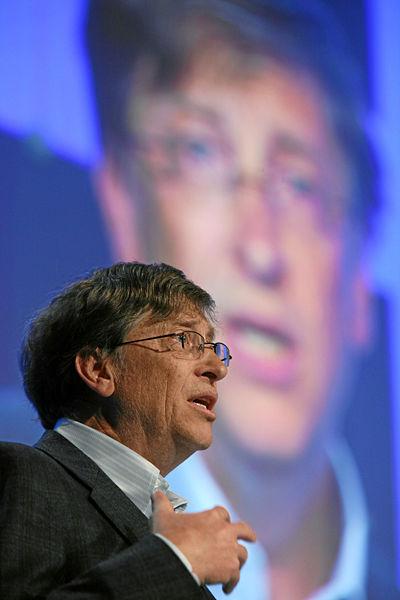 Bill Gates abgelichtet von Petar Marjanovic
