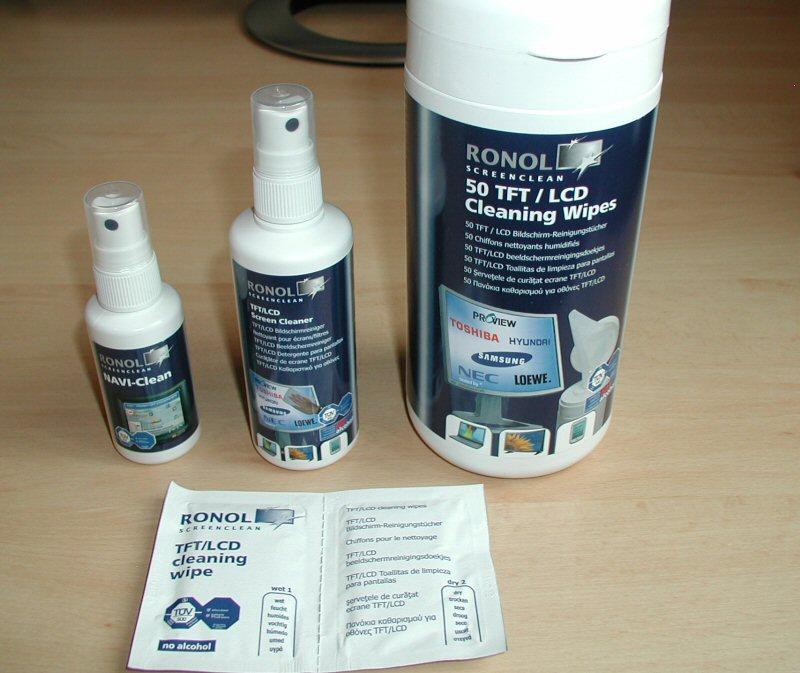 TFT-Reiniger der Marke Ronol