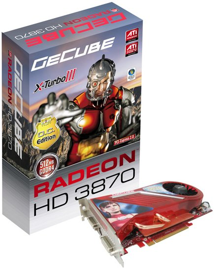 GeCube Radeon HD 3870 X-Turbo III mit 512MB