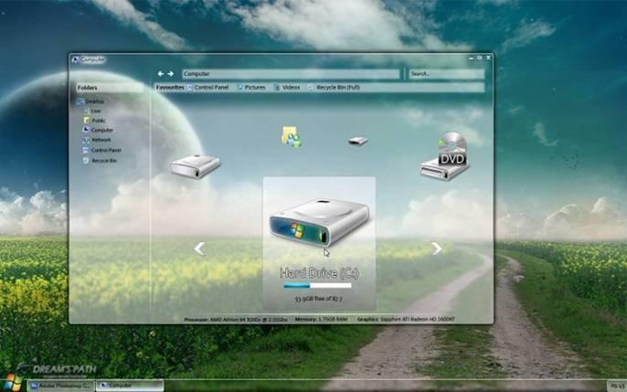 Windows 7 Sreenshot