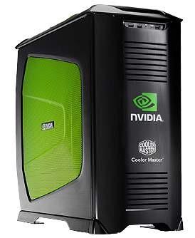 Cooler Master Stacker 830 Gehäuse in der schwarzen Nvidia-Edition