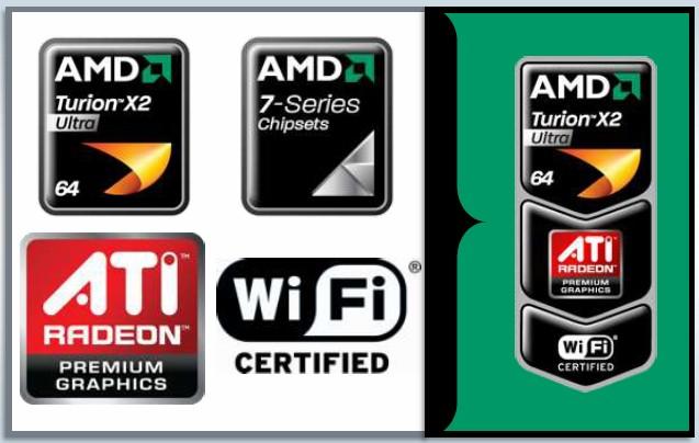 AMD Puma Logos