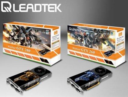 Leadtek WinFast GTX 280 und 260