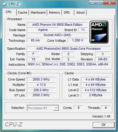 Infos zum Phenom X4 9950