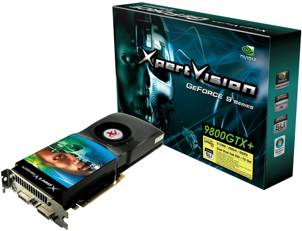 XpertVision GeForce 9800GTX+ 512MB