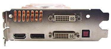 Grafikkarte mit DVI, DisplayPort und HDMI