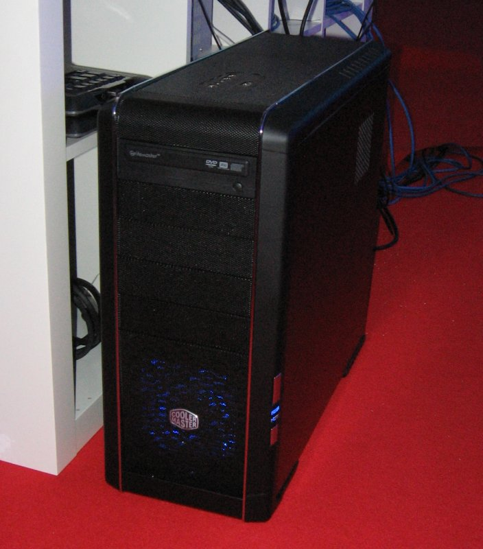 Intels Core i7 System auf der GC