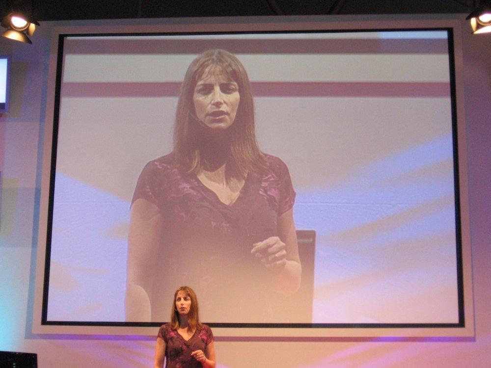 Karen Regis von Intels Mobility Group präsentiert Quad-Core für Notebooks