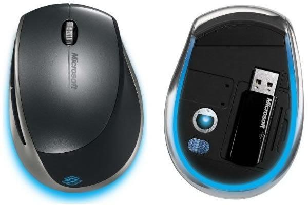 Microsoft Explorer Mini Mouse mit Blue Track