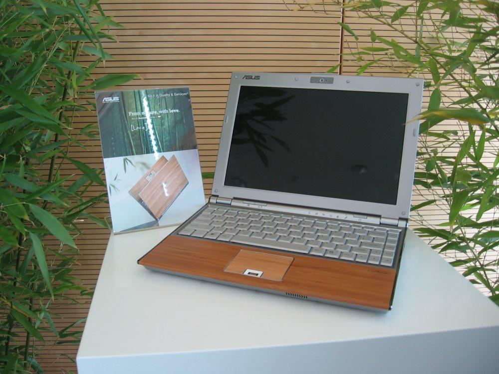 ASUS Bambus-Notebook