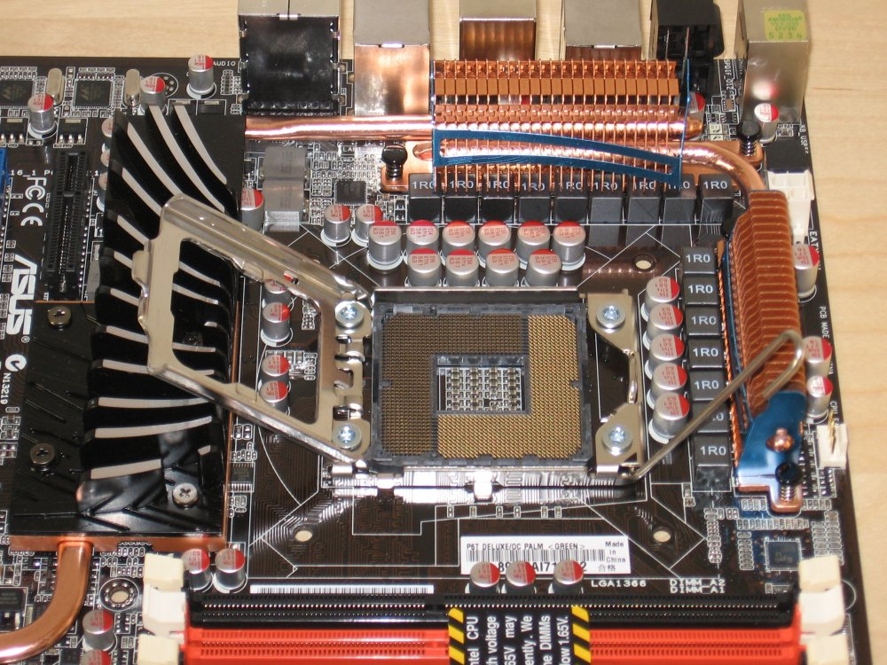 LGA1366 Sockel für Core i7 CPUs