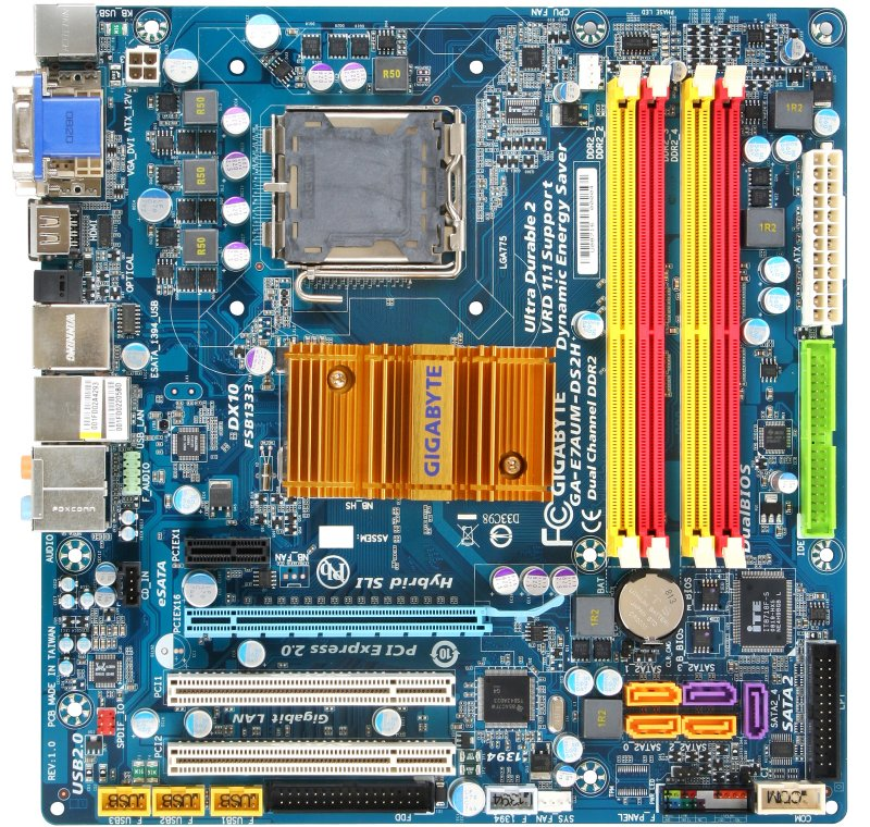 Gigabyte GA-7AUM (GeForce 9400)