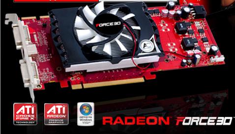 Force3D Radeon HD 4830