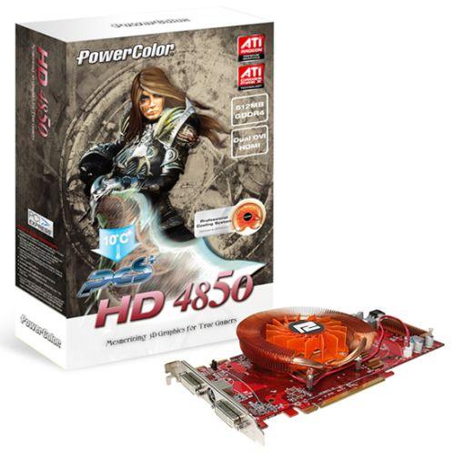 PowerColor PCS 4850 GDDR4