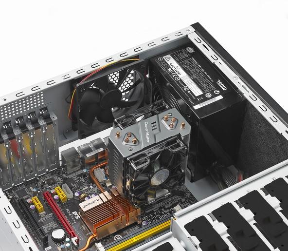 Platz für die meiste Hardware