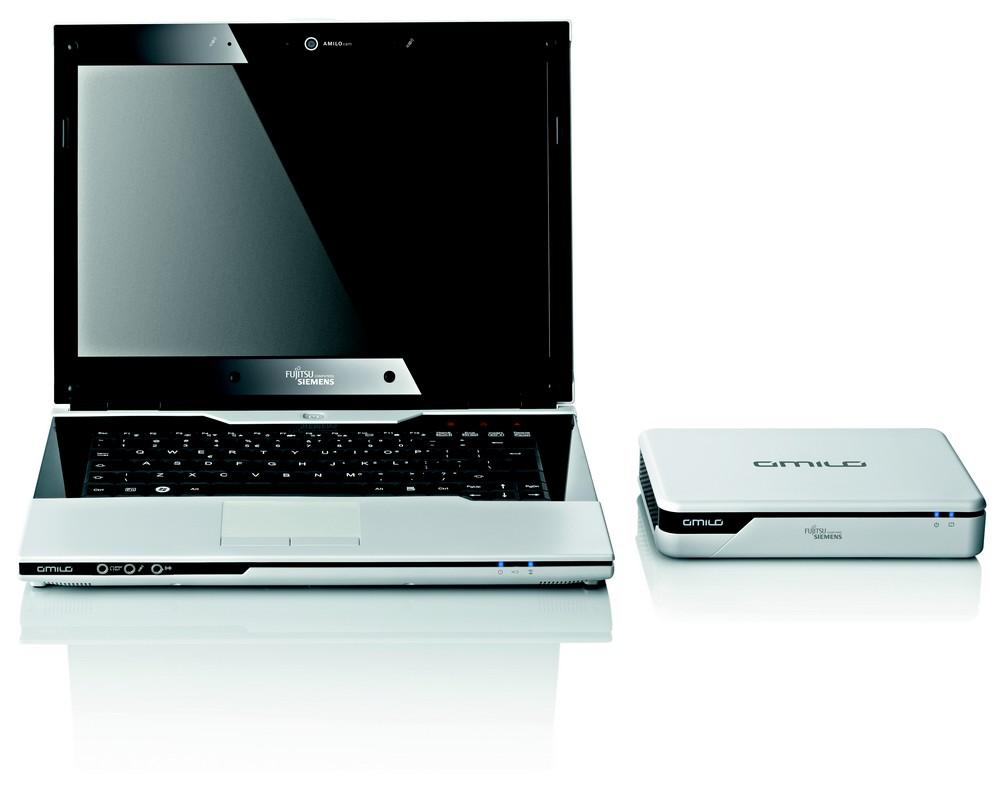 Notebook mit Amilo Graphics Booster