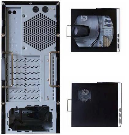 MocanoX von hinten, von der Seite (mal mit und mal ohne Seitenfenster)